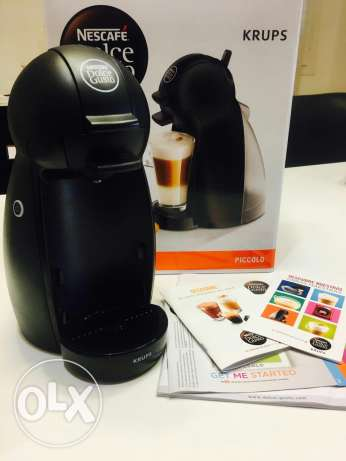 Nescafe Dolce gusto krups semi automatic Coffee machine