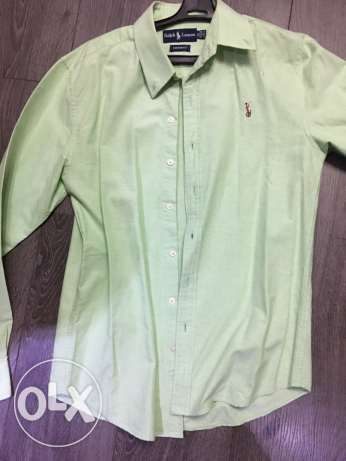 shirt high copy RL like new size medium