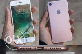 I phone 7 rose gold 128G