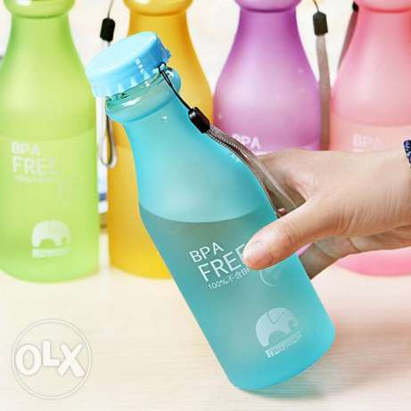 550ml Plastic Bike Juice Water Bottle