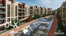 Promenade New Cairo Apartments installments up to 7 years