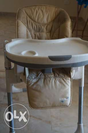 French Baby High Chair