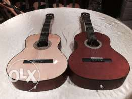 2 fitness guitars