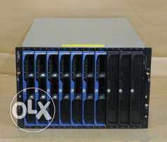 Dell PowerEdge 1855/1955 BMX Blade Chassis 7 x PE1955 - 2 x QUAD-CORE
