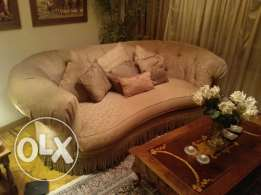 Sofa golden color