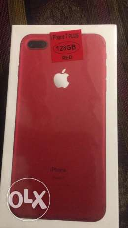 iPhone 7 Plus 128GB Red NEW