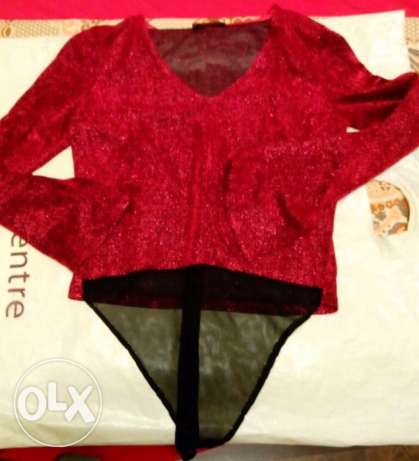 Red Soiree Blouse