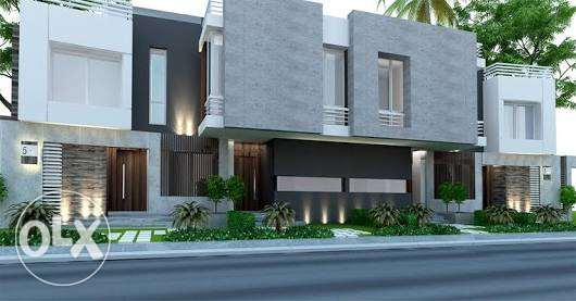 Town House Corner for sale Palm Hills New Cairo 7 Years Installament القاهرة الجديدة -  2