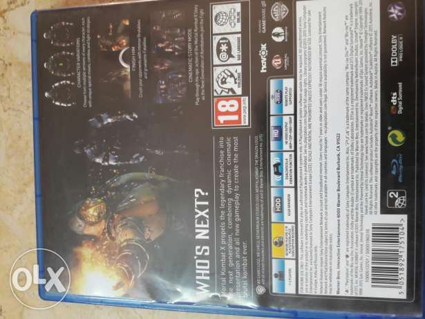 Mortal kombat x for sale or trade
