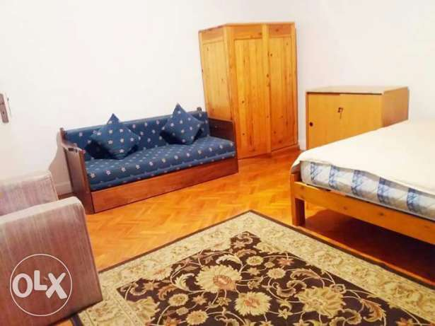 --flat in maadi for rent furnished 3 bedrooms المعادي -  1