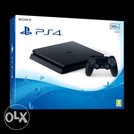 ps4 slim 500gb new