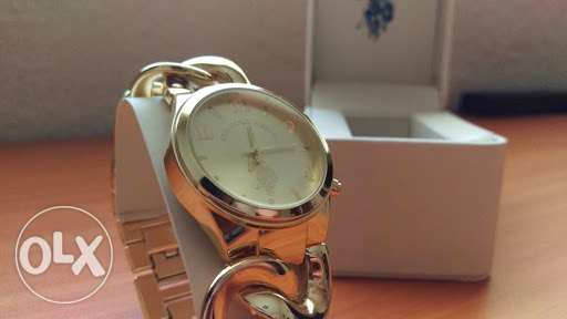 Us polo watch silver gold amazing to be gifted