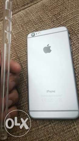 i phone 6 plus black 128 gb almost new مصر الجديدة -  1
