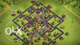 For Sale Account Clash Of Clans Max Th 8