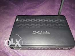 Wirless Access point D-Link 4 port