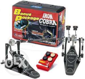 brnd new HP900PWN POWER GLIDE Tama Iron Cobra Power Glide Double Peda مدينة نصر -  5