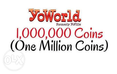 1 Million Yoworld coins