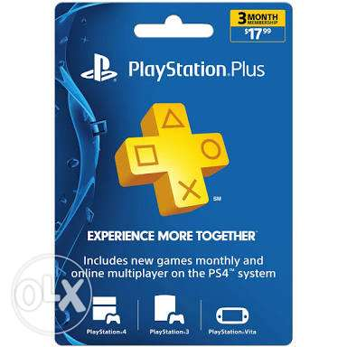Psn plus 3 m ( USA)