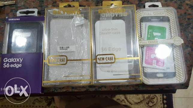 Samsung Galaxy s6 edge cases and screen