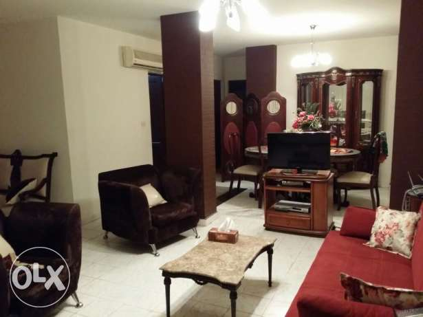 REHAB GUC garden 100m GF fully furnished Flat for rent مدينة الرحاب -  2