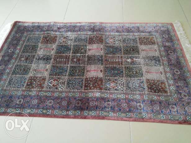 "A master piece, pure silk hand made Persian carpet ""QUM"", Brand new"