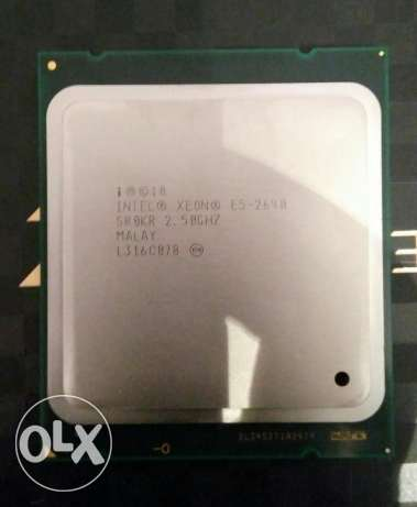 Cpu xeon e5-2640 cash 20 mb - بروسيسور زيون كاش ٢٠ ميجا