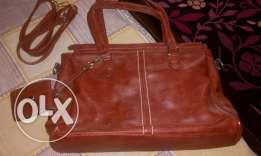 Bag from ca _ maroon color