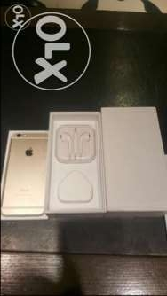 IPhone 6 plus gold64 giga with box