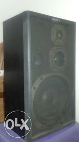 Sony Speakers in very good condition
