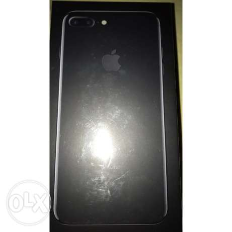 iphone 7 plus 128 GB jet-black