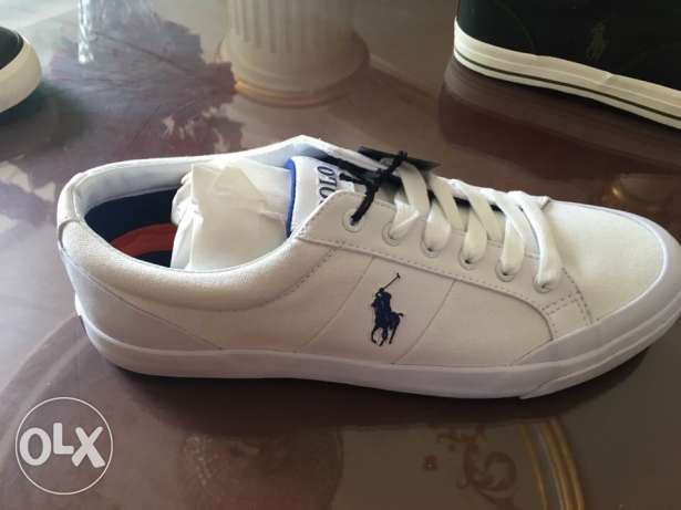 Orginal ralph lauren sneakers with boxes all new for 1250 le only