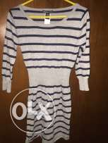 Striped dress from mango size small