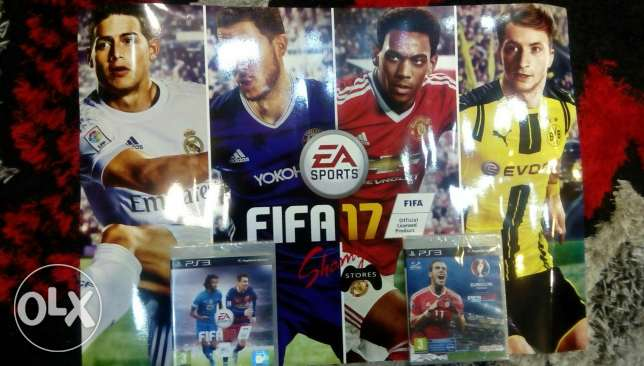 Pes16...400 l.E and fifa16 Arabic edition 400 l new with their covers عجمي -  3