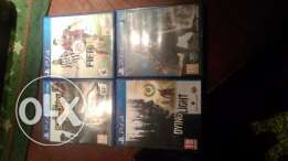 PS4 Games-FIFA15, Assassins creed unity, Dying light, InFamous 2nd son