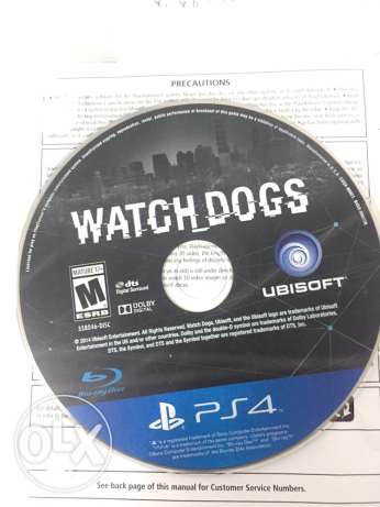 watch dogs ps4 & ps3