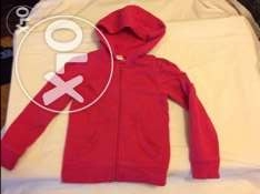 Pink hooded jacket size 4-5 years