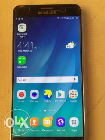 Samsung note 5 32 g one sim with all original accessories and it's box