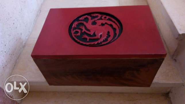 Game of thrones dragon eggs box