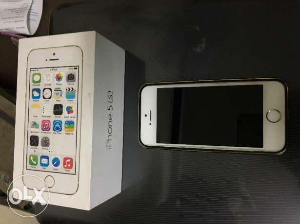 iphone 5S 16g GOLD as new القاهره -  2