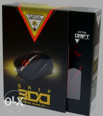 Turtle Beach Grip 300 Gaming Mouse with Drift Pad **جديد متبرشم**