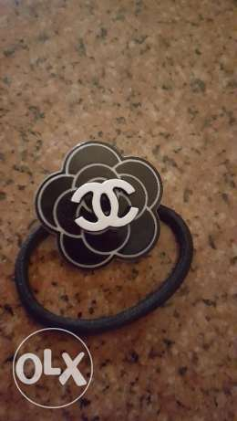 Chanel hair tie