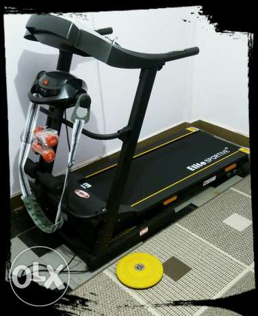 Elite Treadmill with 6 years warranty