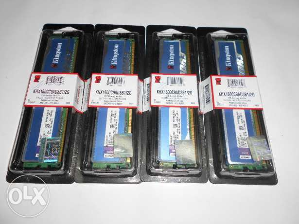 Kingston HyperX 4GB (2X2GB) DDR3 1600Mhz Cl9 1.65V