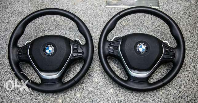 F30 steering wheels with paddle shifter