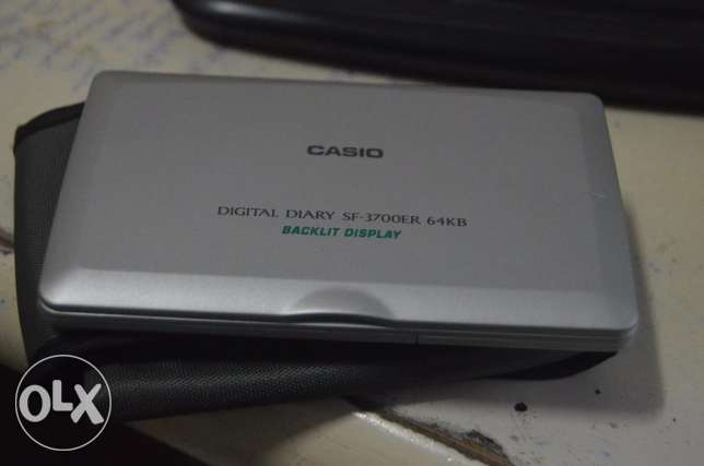 Casio digital diary sf-3700er 64kb