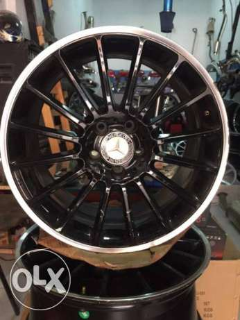 MERCEDES BENZ   mide in garmany     18 2ince for CLA 200 OR 180   /////A M G مدينة دمياط -  4
