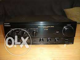 Sony High Fidelity Amplifier original manufacturer's Japanese