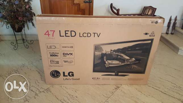 LG Led Plus 3D cinemamax 47 inch Full HD excellent condition
