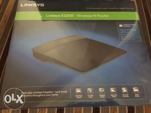 Linksys E1200 Wireless-N Router (Sealed)