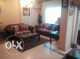Apartment for rent furnished in new maadi